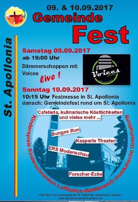 Gemeindefest St. Apollonia 2017